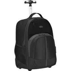 "Targus 16"" Compact Rolling Backpack (Black)"