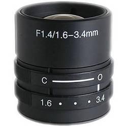 "Kowa LMVZ164 1/3"" 1.6 to 3.4mm Varifocal Manual Iris Lens"