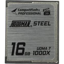 Hoodman 16GB CompactFlash Memory Card Professional STEEL 1000x UDMA