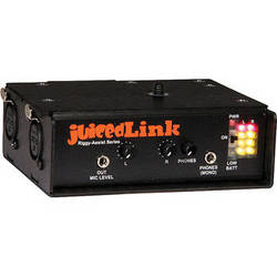 juicedLink RA222 Riggy-Assist Dual-XLR Preamplifier with Phantom Power and Metering