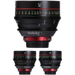 Canon EF Cinema Prime Lens Kit (24, 50, 85mm)