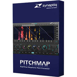 Zynaptiq Pitchmap 1.5 Real Time Polyphonic Pitch Processor Plug-In