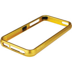Macally Aluminum Frame Case for iPhone 5 (Gold)