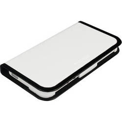 Macally Folio Stand Case for iPhone 5 (White / Black)