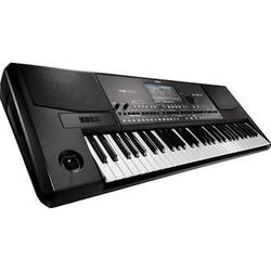 Korg Pa600 Professional 61-Key Arranger Keyboard with Built-In Speakers