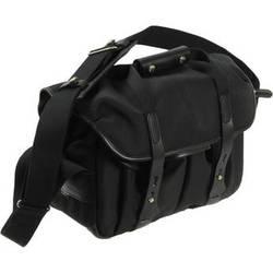 Billingham 307 Shoulder Bag (Black FibreNyte & Leather)