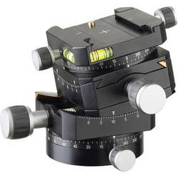 Linhof 3D Micro Leveling Head with Dovetail Track