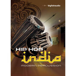 Big Fish Audio Hip Hop India: Modern Percussion DVD