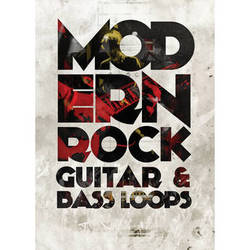 Big Fish Audio Modern Rock DVD (Apple Loops/REX/WAV/RMX/Acid Format)