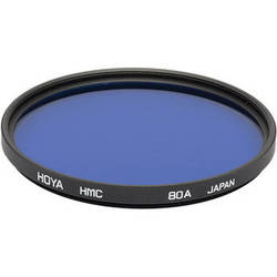 Hoya 46mm 80A Color Conversion Hoya Multi-Coated (HMC) Glass Filter
