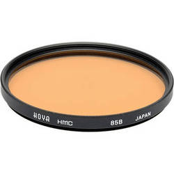 Hoya 58mm 85B Color Conversion Hoya Multi-Coated (HMC) Glass Filter