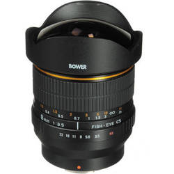 Bower 8mm f/3.5 Super Wide Angle Fisheye Lens for Samsung NX Mount Cameras