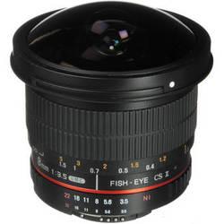 Rokinon 8mm f/3.5 HD Fisheye Lens with Removable Hood for Nikon