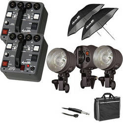 Dynalite MK4-2302 RoadMax 400W/s 2 Pack 3 Head Kit