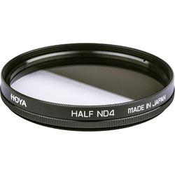 Hoya 49mm Half Neutral Density (ND) x 4 Glass Filter