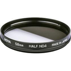 Hoya 58mm Half Neutral Density (ND) x 4 Glass Filter