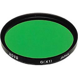 Hoya 72mm Green X1 (HMC) Multi-Coated Glass Filter for Black & White Film