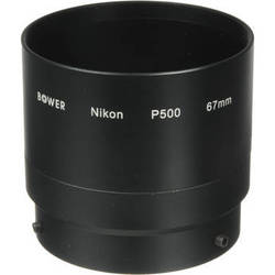 Bower 67mm Lens Adapter for Nikon COOLPIX P500 Digital Cameras