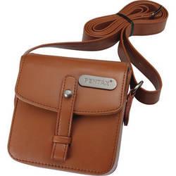 Pentax Q Vintage Leatherette Shoulder Bag (Brown)