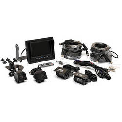 """Rear View Safety Four-Camera Backup System with 7"""" Flush Mount Monitor"""