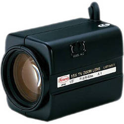 "Kowa LMZ110AMP 1/3"" Video Auto-Iris Zoom Lens with Preset (6 to 90mm)"