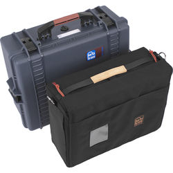 Porta Brace PB-2600IC Hard Case with Soft Case Interior (Blue)