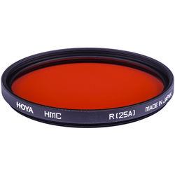 Hoya 52mm Red #25A (HMC) Multi-Coated Glass Filter for Black & White Film