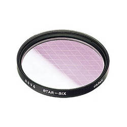 Hoya 52mm Cross Screen 6-Point Star Effect Glass Filter