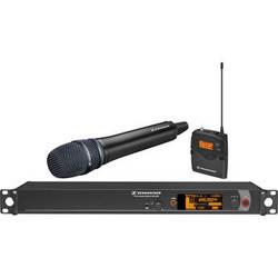 Sennheiser 2000 Series Wireless Microphone System with Handheld Transmitter, Neumann KK 204 Capsule and Bodypack Transmitter (Black)