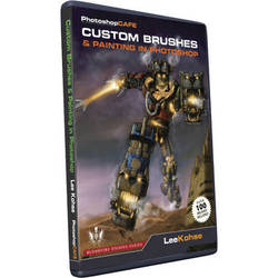 Software Cinema Training DVD: Custom Brushes and Painting in Photoshop