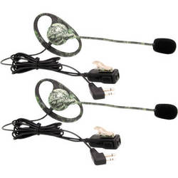 Midland AVPH7 Mossy Oak Break Up Camo Headsets with Boom Mic (Set of 2)