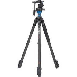 Benro C1573FS2 S2 Video Head and CF Flip Lock Legs Kit