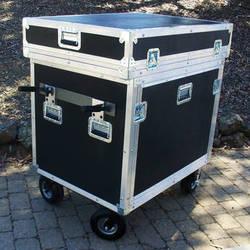BigFoot Roadie Cube 14RU Breakdown Style Cart