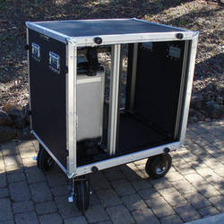 BigFoot Roadie Cube 16RU Breakdown Style Cart