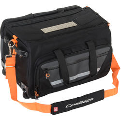 CineBags CB-40 High Roller Camera Bag (Charcoal with Black Embroidery)