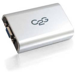 C2G USB 2.0 To VGA Adapter (Gray)