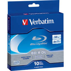 Verbatim 50GB 6x Blu-ray Disc (10-Pack Spindle)