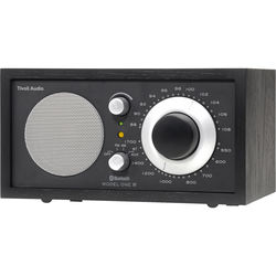 Tivoli Model One Bluetooth AM/FM Radio (Black/Black-Silver)