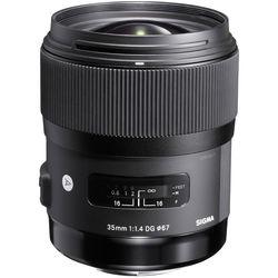Sigma 35mm f/1.4 DG HSM Art Lens for Sony DSLR Cameras