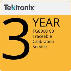 Tektronix TG8000 C3 3-Year Traceable Calibration Service