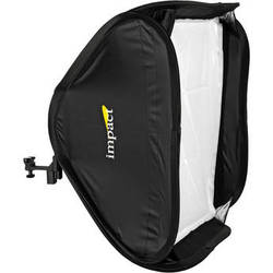 "Impact Quikbox Softbox with Shoe Mount Flash Bracket (24 x 24"")"