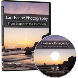 Pearson Education Training DVD: Landscape Photography: From Snapshots to Great Shots