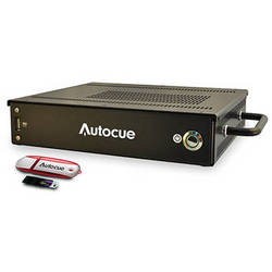 Autocue/QTV QMaster Prompting Software and QBox Package with Multi Button Controller