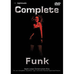 Big Fish Audio Complete Funk DVD (Apple Loops Library)