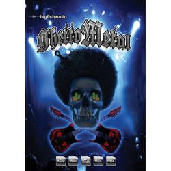 Big Fish Audio Ghetto Metal DVD (Apple Loops, REX, WAV, RMX, & Acid Formats)