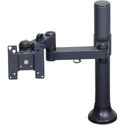 "Premier Mounts MM-AH151 Single Display Articulating Arm on 15"" Tube with Grommet Base"