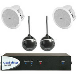 Vaddio EasyTalk USB Audio Bundle (System D)