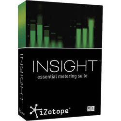 iZotope Insight - Metering Suite Plug-In for Post Production and Broadcast (Download)