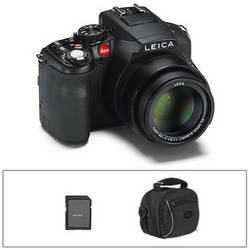 leica v lux 4 digital camera with basic accessory kit b&h