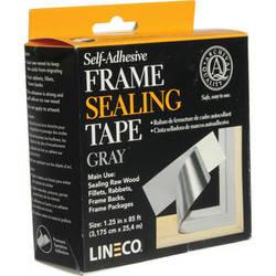 Lineco Frame Sealing Tape - Pressure Sensitive (Gray)